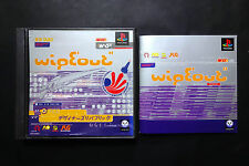 WIPE OUT Wipeout Sony PlayStation PS1 JAPAN Good.Condition