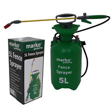 5L Litre Fence Paint Pressure Sprayer Garden Shed Patio Wood Pressure Sprayer