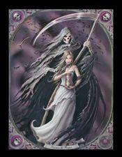 3d CUADRO CON MUERTE - Convocar A EL SEGADOR - Anne Stokes Gothic Poster Lienzo