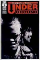 UNDERGROUND #1, NM+, Andrew Vachss, Burwell, Horror,