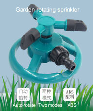 360 ° C Automatic Garden Sprinklers Rotatation Watering Park 3 Nozzle Irrigation