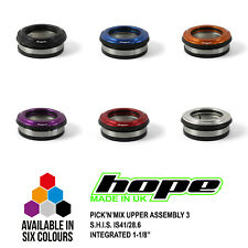 "Hope Pick'n'Mix Headset Upper Assembly 3 S.H.I.S. IS41/28.6 1-1/8"" Integrated"