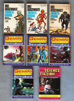 8 Gemini Terra Science Fiction diverse Romanhefte/Sammelbände Sammelband #1-737