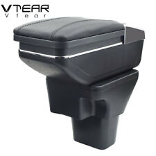 Vtear For Hyundai Accent armrest box central Store content cup holder 2006-2011