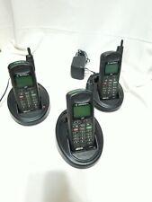 Lot of 3 Motorola Nextel iDen Cellular Telephones (i370Xl) For Parts/Repair
