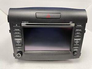 🔥2012 2013 2014 Honda CRV CD Navigation Screen Display Radio OEM