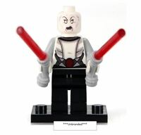 Asajj Ventress Star Wars CUSTOM LEGO Minifigure Mini Fig The Clone Wars
