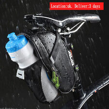 RockBros Cycling Bicycle Saddle Bag Pannier Bike Seat Post Bag Tail Storage UK
