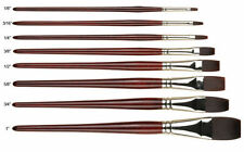 Pro Arte Flat Brushes for Artists