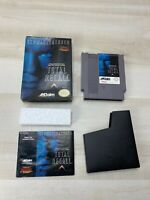 Total Recall Complete CIB W/ Box & Manual Nintendo NES Game Tested Working