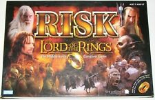 Lord of the Rings Risk The Middle-earth Conquest Game Open-not played Hasbro