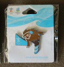 Quatchi Parallel GS 1278  AUTHENTIC Vancouver 2010 Winter Olympic PIN new