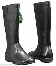 Dexter Manor Ladies Black Nappa Calfskin Leather Tall Boots Size 7 M
