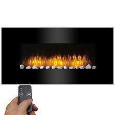 LED Elektrokamin mit Feuereffekt mit Fernbedienung Wandkamin Kaminofen Heizofen