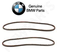 For BMW E46 323Ci 323i 325i 330i M3 Set of 2 Headlight Lens Seal Gaskets Genuine