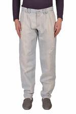 Dolce & Gabbana D&G Men's Light Blue Distressed Jeans US 32 IT 48