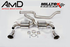 "Milltek Focus RS Mk2 3"" Ultimate Cat Back Exhaust System - IDEAL FOR BIG BHP"