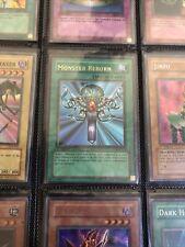 Yugioh Monster Reborn LOB-118 Ultra Rare 1st Edition Played