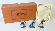 Forward March! ACW 69th New York Co F Zouaver Charging Figures Set FM10002