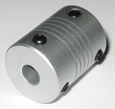 6 mm to 6 mm Shaft Flexible Coupling - 6mm to 6mm - Aluminum Flex Coupler