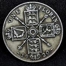 1920 TO 1946 UK GREAT BRITAIN .500 SILVER FLORIN BUY 1 OR MORE ITS FREE S//H!
