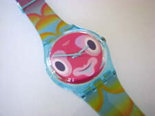 MR. BLUBBY! Whimsical & Colorful FISH FACE & SCALES Swatch! NIB-RARE!