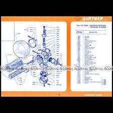 TONDEUSE BERNARD MOTEURS : Fiche Technique Carburateur GURTNER GA 12 824 #FT48