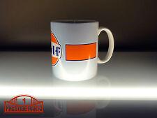 Gulf Racing Logo Coffee Mug 10oz. - Official Licensed Gulf Merchandise #3002