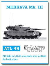 Friulmodel Metal Tracks for 1/35 Israeli Merkava Mk.III (240 links) ATL-49
