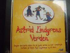 MICKE  LITTWOLD  -  ASTRID  LINDGRENS  VERDEN ,   CD 1997 ,   PIPPI LANGSRUMP,