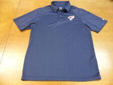 Blue Nike Dri Ft Oklahoma City Redhawks Polo Shirt Small S