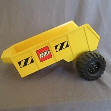 487D Lego Remorque Jaune 16cm