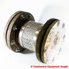 "6"" 150# Braided Stainless Steel Pump Connector Floating Carbon Steel Flanges"