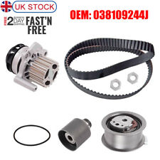 Timing Belt Water Pump Kit 038109244J 038109244N For Audi VW Seat Skoda 2.0L TDI