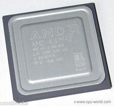 AMD K6-2/380AFK CPU 380 MHz Super Socket 7 Vintage Tested Good GOLD