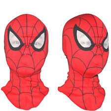 Adult Kids Super Heroer Spiderman Mask Cosplay Fancy Dress Costume Party