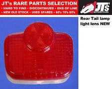 REAR TAIL LENS LIGHT LENS BACK BRAKE LAMP SUZUKI AP50 A50P Made in Japan COPY