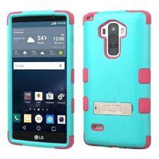Fundas y carcasas de plástico de color principal rosa para teléfonos móviles y PDAs LG
