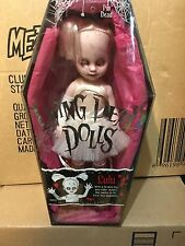 New Sealed MEZCO Living Dead Dolls Series 4 LuLu Doll Roller Derby Skates