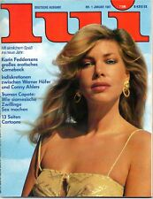 LUI 01/1981    KARIN FEDDERSEN*    Januar/1981