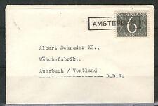 Ungeprüfte Briefmarken der DDR (1955-1959) mit Bedarfsbrief-Erhaltungszustand