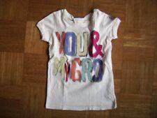 @ GRD @ Hermoso Camiseta de manga corta blanco crema talla 128 Edad 7-8