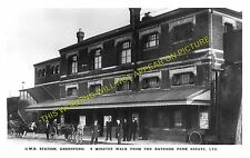 Greenford Railway Station Photo. Northolt to Perivale and Ealing Lines. GWR. (2)