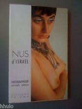 Nus d'Israel Photographie Michaël Argov Editions Prisma 1967 Erotisme Curiosa