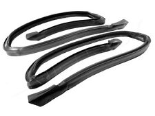 1978-1987 Buick Regal & GN 2 dr hardtop new rubber roof rail weatherstrip seals