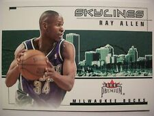 2002-03 FLEER PREMIUM SKYLINES RAY ALLEN , CELTICS !! BOX # 46