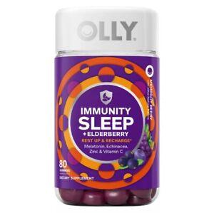 Olly Immunity Sleep Gummy with Melatonin 80 ct