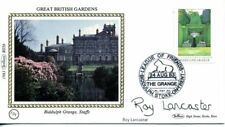 1983 Great British Gardens first day cover CERTIFIED SIGNED Roy Lancaster