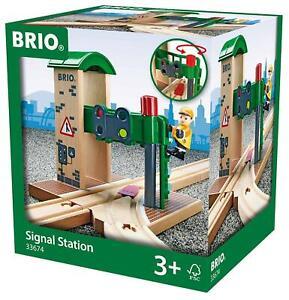 BRIO Signal Station 2pcs 33674