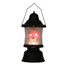 LED Skull Lantern Music Sounds Light up Scary Skeleton Halloween Decoration Lamp